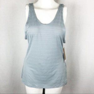 ATHLETA (S)NWT Slate Gray Max Out Tank Top